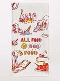 Blue Q Geschirrtuch all food is dog food - dish towel