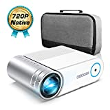 "Mini Projector, GooDee 4000 Lumens Portable HD G500 Video Projector 200"" Display 1080p"