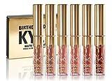 Kylie Jenner - Kit de lápiz labial líquido para cumpleaños (6 unidades)