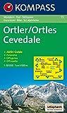 Ortler /Ortles /Cevedale: Wanderkarte mit Aktiv Guide, alpinen Skirouten und Radrouten. GPS-genau. 1:50000. Dt. /Ital. (Carte de Randon, Band 72) - 72 Kompass