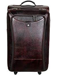 71d677fce69 Amazon.in  Leather - Suitcases   Trolley Bags   Luggage  Bags ...