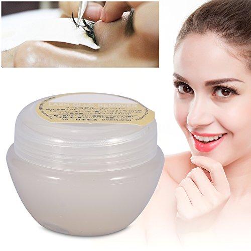 Dissolvant de Colle de Cils, Professionnel Faux Cils Extension Remover Colle Adhésif Éliminant Crème Maquillage Cosmétique Accessoire 5g