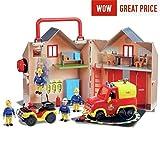 New 2017 / 18 fireman sam fire station rescue set pontypandy rescue, create the world of fireman sam