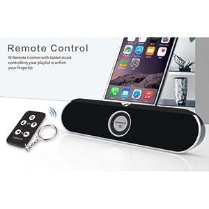 TECEVO S100 Station d'accueil, haut parleur bluetooth, NFC, pour iPad, Tablettes, téléphone portable