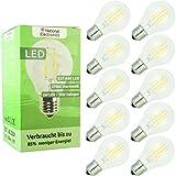 10x National Electronics® Set di 10 | E27 5W LED 550 lumen | Lampada AC 230V 270° lampada bianco caldo