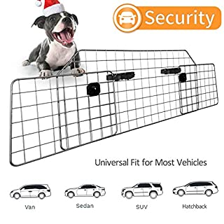 Sailnovo Hundegitter fürs Auto-Schutzgitter Trenngitter - Bis 61