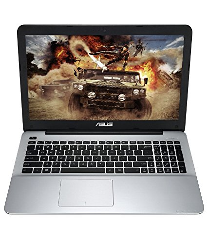Asus A555LF-XX409T 15.6-inch Laptop (Core i3-5010U/4GB/1TB/Windows 10/2GB Graphics), Matte Silver and Grey
