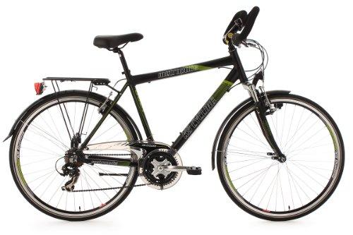 KS Cycling Herren Fahrrad Trekkingrad Alu-Rahmen Metropolis Multipositionslenker, Schwarz, 28 Zoll, 122T