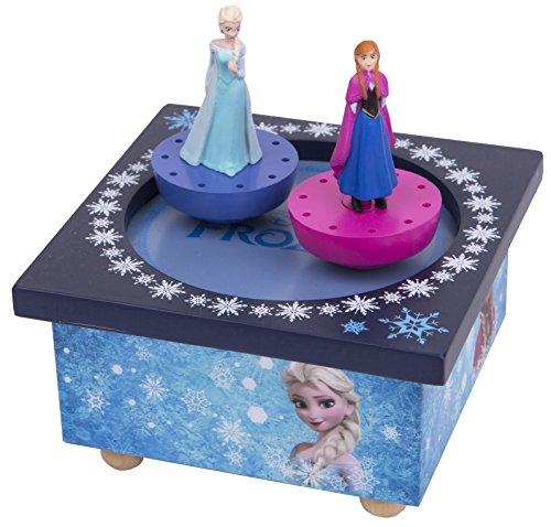 Trousselier - La Reine des Neiges - Frozen - Boite à Musique Dancing Elsa & Ana