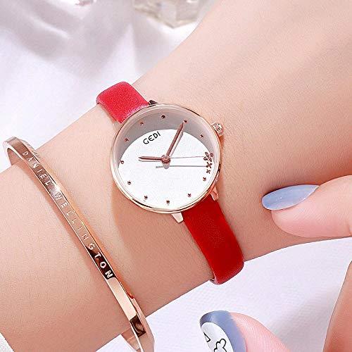 Reloj para Mujer Reloj para Mujer Tendencia Femenina Moda Estudiantes The Simple New Small Dial