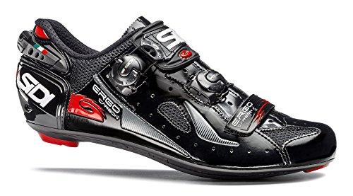 Sidi Ergo 4 Carbon Road Schuhe, Herren, schwarz, 42 M EU -
