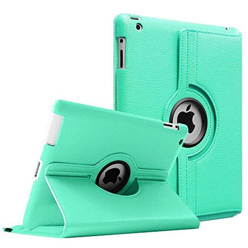 Fintie Apple iPad 2/3/4Fall-360Grad drehbar Ständer Smart Schutzhülle für iPad mit Retina Display (iPad 4. Generation), das neue iPad 3und das iPad 2(Automatische Sleep/Wake Funktion) Premium Hardshell Case