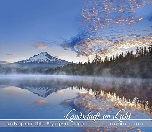 Landschaft im Licht 2020 - Landscape and Light - Bildkalender (33,5 x 29) - Landschaftskalender - Natur - Wandkalender