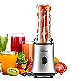 Mixer Smoothie Maker Mini Standmixer von Volsteel BL101 (Standmixer-Aufsatz (300 ml), BPA Frei, Edelstahl, Edelstahlmesser)