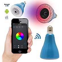 Dmg Usmart Bluetooth Led Light Bulb Smartphone Controlled Dimmable Multicolored Color Changing