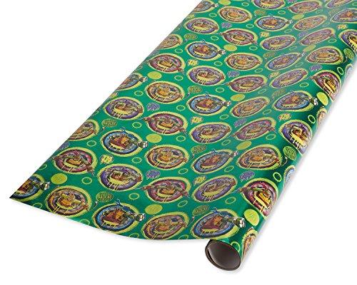 American Greetings Teenage Mutant Ninja Turtles Folie Geschenkpapier, 20SQ. FT. - Turtle Ninja Hintergrund