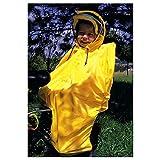 Hock Regenschutz 'Rain-Bow' für Kindersitz, gelb (1 Stück)