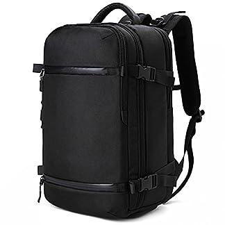 Lifewit Mochila para 17″ Ordenador Portátil Mochila Hombre de Viajes Multifuncional con Cubierta de lluvia de Gran Capacidad Mochila Bolsos para MacBook Negro