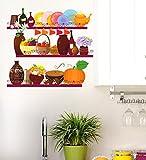 Decals Design 'Kitchen Utensils and Jars...
