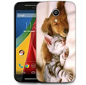 Snoogg Babies Sleeping Designer Protective Phone Back Case Cover For Motorola G 2nd Genration / Moto G 2nd Gen