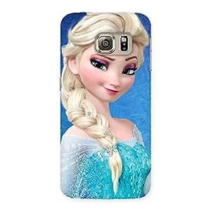 Impressive Wink Freez Princess Back Case Cover for Samsung Galaxy S6 Edge