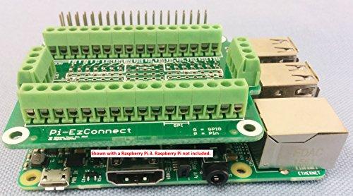 Alchemy Power Inc. Pi-EzConnect – Raspberry Pi GPIO Verbinder. Eine Kappe um GPIOs und Sensoren zu einem Raspberry Pi zu verbinden. Inkl. MwSt. -