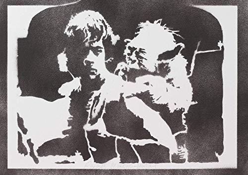 Luke Skywalker Und Yoda STAR WARS Poster Plakat -