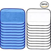 followhe tipo 20Pack microfibra lavado Mopping paños 10Wet + 10en seco para iRobot Braava 380380T 320Mint 4200420552005200C