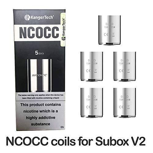 Kangertech-Subox-Mini-V2-Coil-Head-08ohm-Ersatzspulen-5-pcspack-Ohne-Nikotin