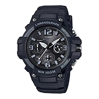 Casio Youth-Analog Black Dial Men's Watch-MCW-100H-1A3VDF (AD213)