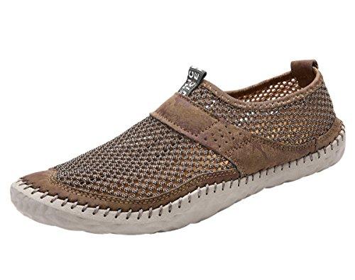 Miyoopark , Chaussures aquatiques pour homme Kaki