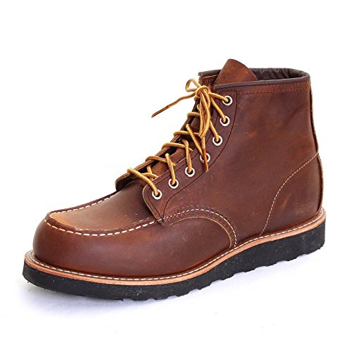 Red Herren Wing-chukka-stiefel (Red Wing 8886 Moc Toe copper, Größen:45)