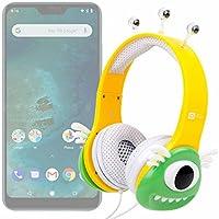 DURAGADGET Auriculares mágicos para niños para Smartphone DOOGEE X55, Ulefone S8 Pro, Xiaomi Mi