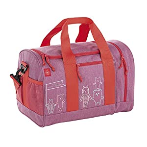 Lässig Mini Sportsbag About Friends mélange Turnbeutel, 40 cm, Pink