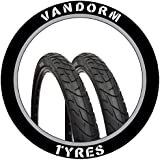 "PAIR of 26"" Slick Tyre MTB Vandorm Wind 195 26"" x 1.95"" Bike Tires SPECIAL OFFER"