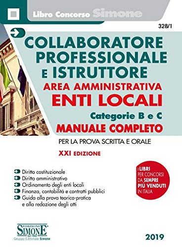 Collaboratore professionale e istruttore. Area