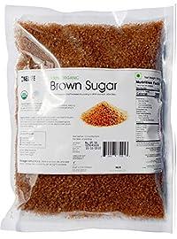 ONELIFE ORGANIC Certified 100% Organic Brown Sugar, 500g, Pure and Healthy, Non-GMO, Vegan, Natural Sweetener