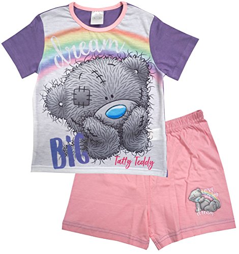 Girls Pyjamas Shorty Me to You Tatty Teddy Bear Dream Big Pjs Sizes from 5 to 12 Years