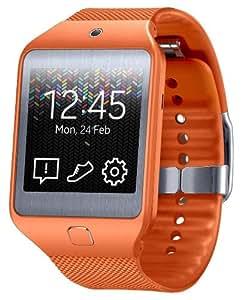 Samsung Gear 2 Neo Brassard avec Bluetooth pour Samsung Smartphone/Tablette Orange