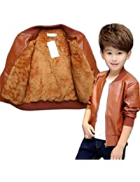 Style Madness Baby Boy Jackets/Sweater/ Children's Jacket - Tawny Brown Color - with Fleece Layer Inside (Pack of 1)