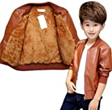#1: Style Madness Baby Boy Jackets/Sweater/ Children's Jacket - Tawny Brown Color - with Fleece Layer Inside (Pack of 1)