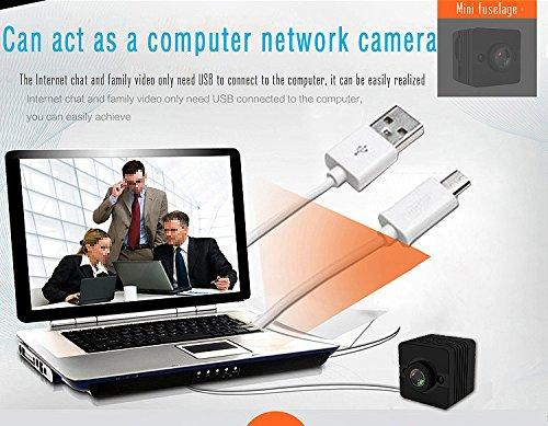 Impermeable FabQuaity mini cámara de visión nocturna SQ12 BONUS HD 16GB Tarjeta SD cámara de acción deportiva videocámara 1080P DV Video Grabador DVR coche de infrarrojos de detección de movimiento de la cámara para bicicleta Buceo Esquí etc