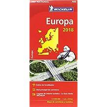 Mapa National Europa (Mapas National Michelin)