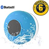 Electro™ Wireless Handsfree Bluetooth Waterproof Shower Speaker With Microphone Compatible With All Smartphone (6 Month Warranty)