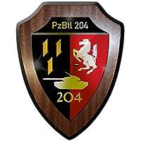 Stemma scudo/Banda Stagnata–pzbtl 204Panzer bataillon 204tipo 3unità Forze armate militare stemma distintivo Emblem # 13621