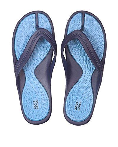 Aqua-Speed, Infradito donna darkblue/blue