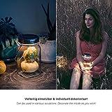 SONNENGLAS® Solarlampe / Solar-Laterne im Einmachglas - 5