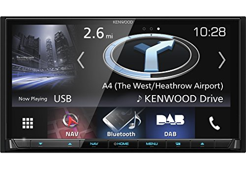 "Kenwood Electronics DNX8170DABS Fijo 6.95\"" LCD Pantalla táctil 2700g Negro navegador - Navegador GPS (17,6 cm (6.95\""), 800 x 480 Pixeles, LCD, Horizontal, Flash, SD,SDHC,SDXC)"