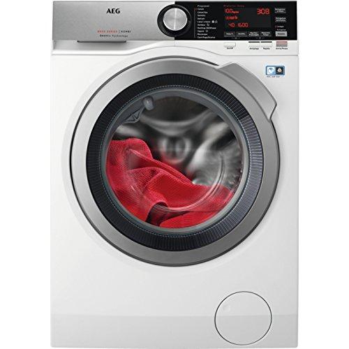 AEG l8wec166X autonomo carico anteriore a Argento, Bianco-Macchine da lavare con asciugatrice (carico anteriore, autonomo, Argento, Bianco, Sinistra, bottoni, girevole, freddo)