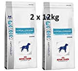 Royal Canin Veterinary Diet Canine Hypoallergenic Moderate Calorie 2 x 14kg